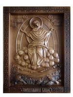 Резная подарочная икона Спорительница Хлебов