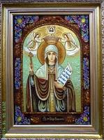 Янтарная икона Параска