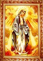 Янтарная икона Покрова (4)
