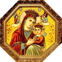 Янтарная икона Религиозный сюжет (15)