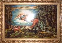 Янтарная икона Религиозный сюжет (20)