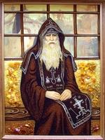 Янтарная икона Религиозный сюжет (35)