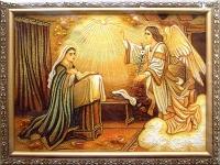 Янтарная икона Религиозный сюжет (36)