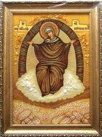 Янтарная икона Религиозный сюжет (38)
