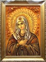 Янтарная икона Религиозный сюжет (41)