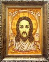 Янтарная икона Религиозный сюжет (42)