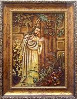 Янтарная икона Религиозный сюжет (46)