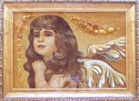 Янтарная икона Религиозный сюжет (49)