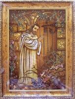 Янтарная икона Религиозный сюжет (52)
