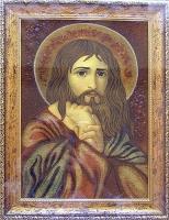 Янтарная икона Религиозный сюжет (53)