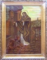 Янтарная икона Религиозный сюжет (54)