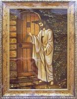 Янтарная икона Религиозный сюжет (55)