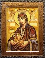 Янтарная икона Религиозный сюжет (62)