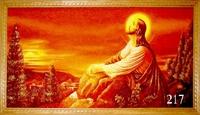 Янтарная икона Религиозный сюжет (7)