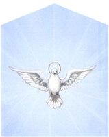 Печатная икона Голубь мира