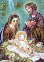Янтарная икона Св.Семья (Св.Родина) (16)