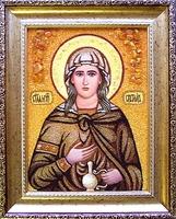 Янтарная икона Светлана 2