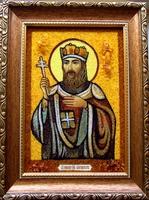 Янтарная икона Святослав