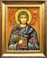 Янтарная икона Валерий 1
