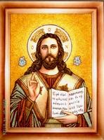 Янтарная икона Венчальная (10)