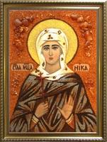 Янтарная икона Виктория (Ника) 1