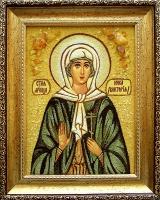 Янтарная икона Виктория (Ника) 2