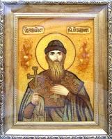 Янтарная икона Владимир 1