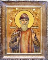 Янтарная икона Владимир 3