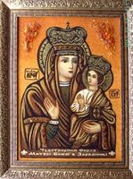 Янтарная икона Зарваницкая (29)
