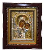 Икона живописная Дева Мария с Младенцем