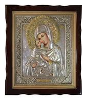 Икона живописная Дева Мария с Младенцем 2