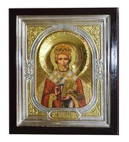 Икона Николай 24х28