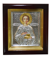 Икона Пантелеймон 16х18