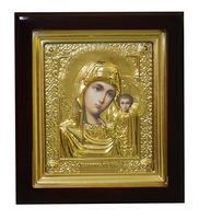 Икона Дева Мария с Младенцем 16х18