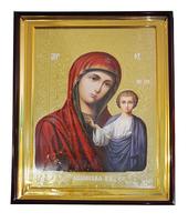 Икона храмовая Дева Мария с Младенцем 61х81
