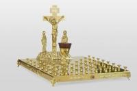 Крышка панахидного стола на 50 свечей улучшеный