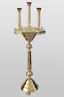 Подсвечник на 65 свечей 3 лампадный