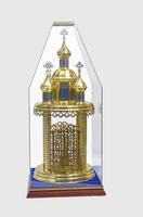 Дарохранительница храм (без ковпака)