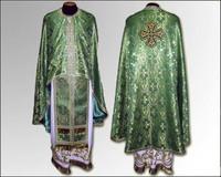 Облачение зеленое вышивка Иерейское грецкий крой
