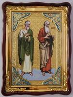 Апостолы Андрей и Матфей  икона