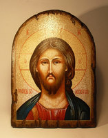 Икона Спасителя под старину арка