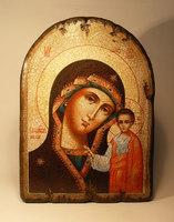 Икона Божией Матери под старину арка