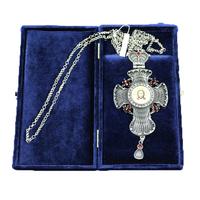 Крест наперсный серебренный МР-КРСВ-06-Г
