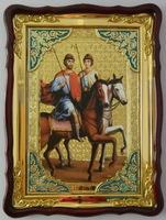 Борис и Глеб  икона