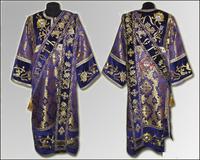 Дияконская риза темно-фиолетовая