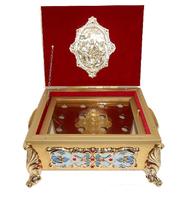 Ковчег для частиц святых мощей на 9 или 12 мощевиков
