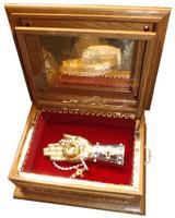 Ковчег для святых мощей с десницей