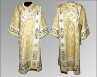 Дияконская риза золотистая