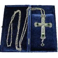 Крест наперсный серебренный МР-КРСВ-04-З