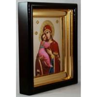 Икона Божья Матерь Владимирская 24,5*21,5*4 см